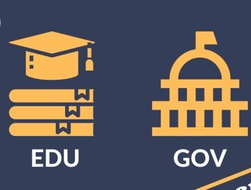 gov edu backlink